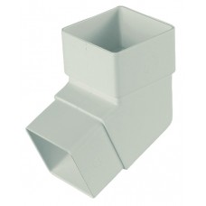 Square Line Offset Bend - White