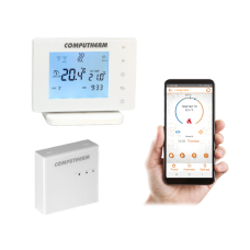 Computherm E400 Wi-Fi Room Thermostat With Remote Controller