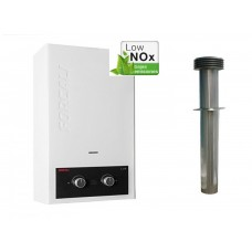 Forcali 10L Lpg Water Heater Complete With Flue Kit