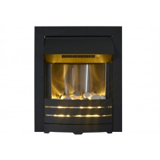 Sapphire Electric Fire in Black