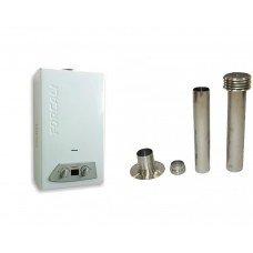 Forcali 6L Lpg Water Heater Complete With Flue Kit