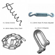 Chain Down Kit For Soft Ground