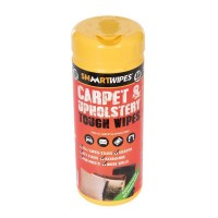 SMAART Carpet and Upholstery Tough Cleaning Wipes - Pack Of 40