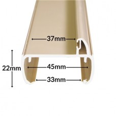 INTERNAL DOOR FRAME 2M LENGTH BEIGE
