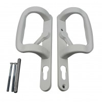 UPVC Inline Patio Door Handle XL Locking