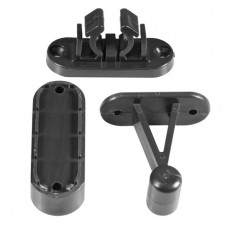 Viva Door Retainer Kit Black