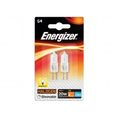 Energizer Eco G4 Capsule 16W/20W 12V Dimmable, Pack OF 2