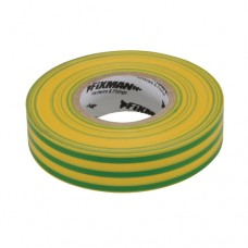 Insulation Tape Green/Yellow 19mm x 33m