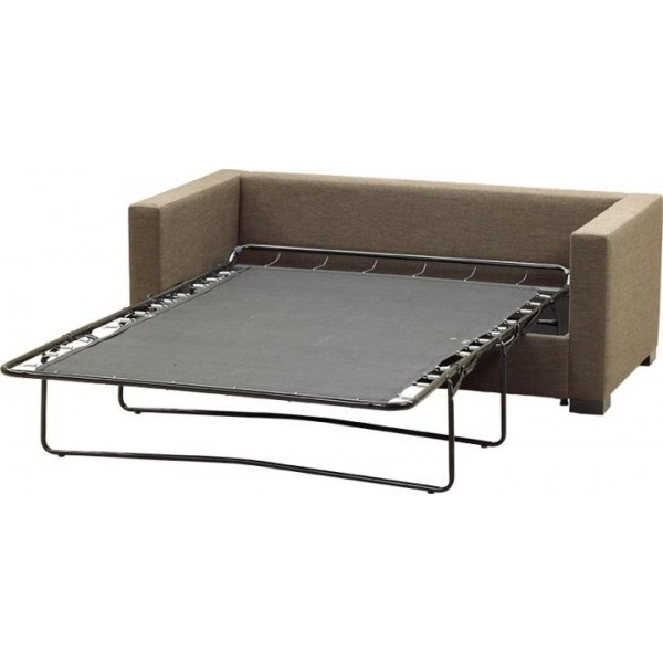 Som Toile 3 Fold Pull Out Bed Action With New Mattress