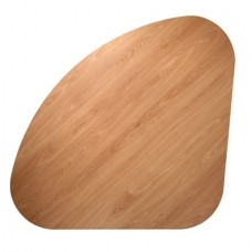 TEARDROP SHAPE TABLE TOP BEECH