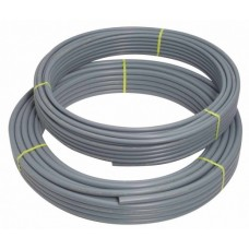 15mm Polybutylene Pipe {50m Coil) Grey