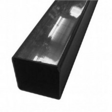Square Downpipe, 65mm 2.5mtr Length - Black