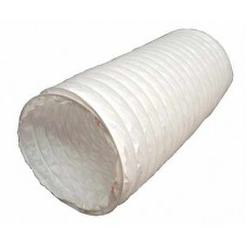 150mm White PVC Flexible Ducting Hose Pipe