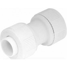15mm Straight Connector White