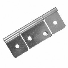3 Leaf Satin Door Hinge 85mm