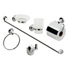 6 Piece Bathroom Accessory Set