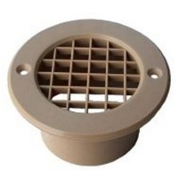 75MM MESH FLOOR VENT BEIGE