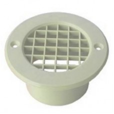 75MM MESH FLOOR VENT WHITE