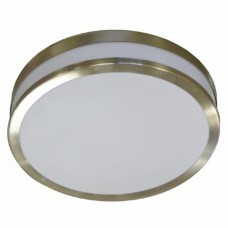 CEILING LIGHT CHROME BAND 290MM DIA