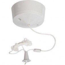 Ceiling Switch Pull Cord 10A 2 Way (Round)