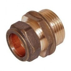 Compression Coupler Male 15mm x 1/2