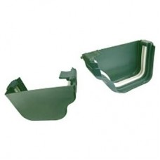 DLS Gutter End Cap Set - Green