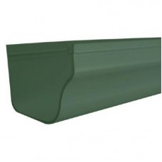 DLS HOLIDAY HOME GUTTER Forest Green 2M LENGTH