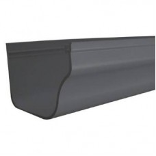 DLS HOLIDAY HOME GUTTER Graphite 2M LENGTH