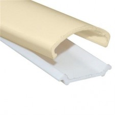 'D' mould Medium (A + B) SIZE: 16mm x 2.4 metre Cream