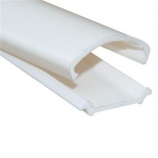 'D' mould Medium (A + B) SIZE: 16mm x 2.4 metre White