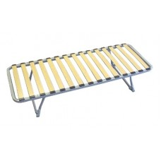 Guzunder Single Bed Frame Folding Legs 6' x 2'3""