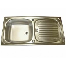 Linen Stainless Steel Sink and Waste Kit ( CA1 )