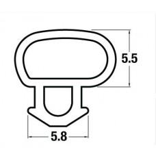 Oversize Offset Bubble Seal Per Metre