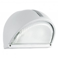 POLY AND ALU WALL LIGHT WHITE IP65 19CMX11.5CM