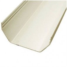 Plastic Gutter, 112mm Square 2M - White
