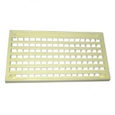 "Plastic Interior Vent 6 3/4"" x 3 1/2""  Cream"