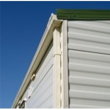 WBK Static Caravan Ogee Gutter Conversion Kit 4 Downpipes