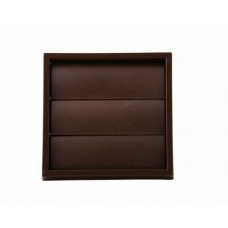 Wall Outlet Gravity Flap 100mm Brown