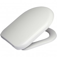 D One Soft Close Toilet Seat in White