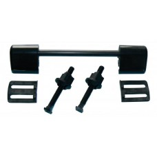 Seat and Lid Hinge Repair Kit Black