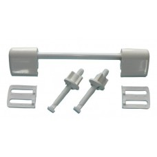 Seat and Lid Hinge Repair Kit White