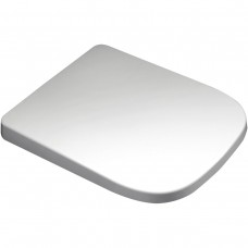 Square Cut V20 Soft Close Toilet Seat in White
