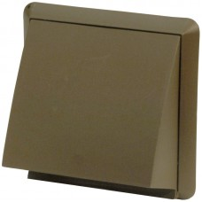 Round Ducting Cowled Outlet Brown
