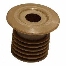 10mm Pipe Seal Hole Tidy 27mm Tail Beige